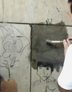 Manchas de pintura, piedra, gres porcelánico | Stone Clear - Productos