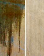 Mancha de aceite en piedra porosa