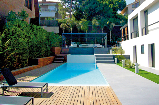Playa piscinas